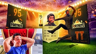 FORTNITE FIFA PACK OPENING!!! (Fortnite FIFA)