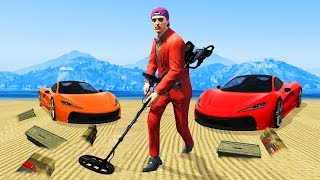 Detect The Mines Or EXPLODE! - GTA 5 Funny Moments