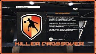 NBA 2K15- How To Get Killer Crossover Badge Tutorial!!