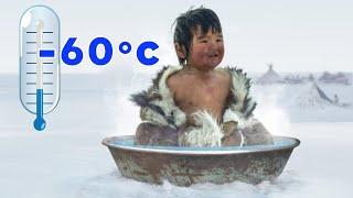 Ecco Come Vivono in Siberia a -60 °C