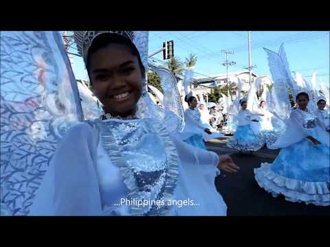 TRAVEL IN PHILIPPINES   SINULOG FESTIVAL  -  VISAYAS ISLANDS (BOHOL CEBU)  HD