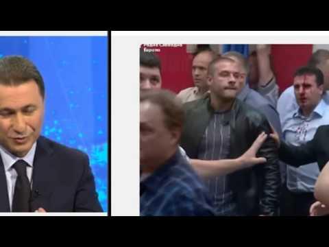 Pathologic liar Nikola Gruevski - the man who has blood in his hands !!?