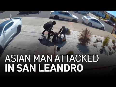 80-Year-Old Asian Man Attacked in San Leandro California. Democrat District.