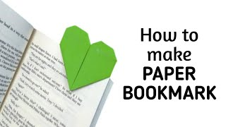 How to make a heart shaped paper bookmark | DIY Paper Craft Ideas, Videos & Tutorials.
