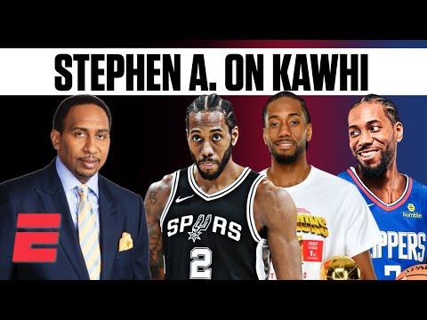 Stephen A. Smith on Kawhi Leonard through the years | ESPN Voices