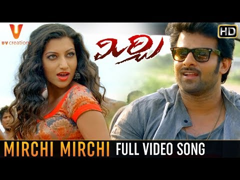 Mirchi Telugu Movie TITLE SONG Full Video | Mirchi Movie Video Songs | Prabhas | Anushka | DSP