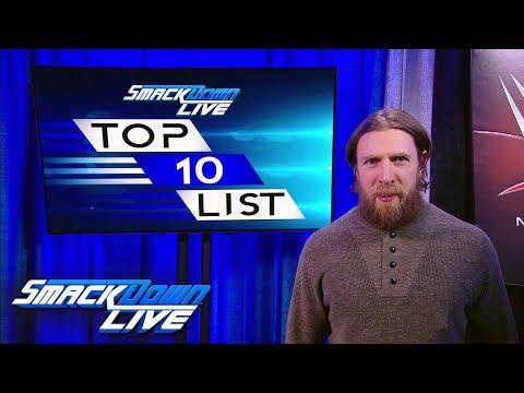 Daniel Bryan reveals the first SmackDown LIVE Top 10 Superstars List: SmackDown LIVE, Feb. 6, 2018