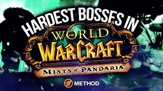 Hardest Raid Bosses in MoP (Mists of Pandaria)