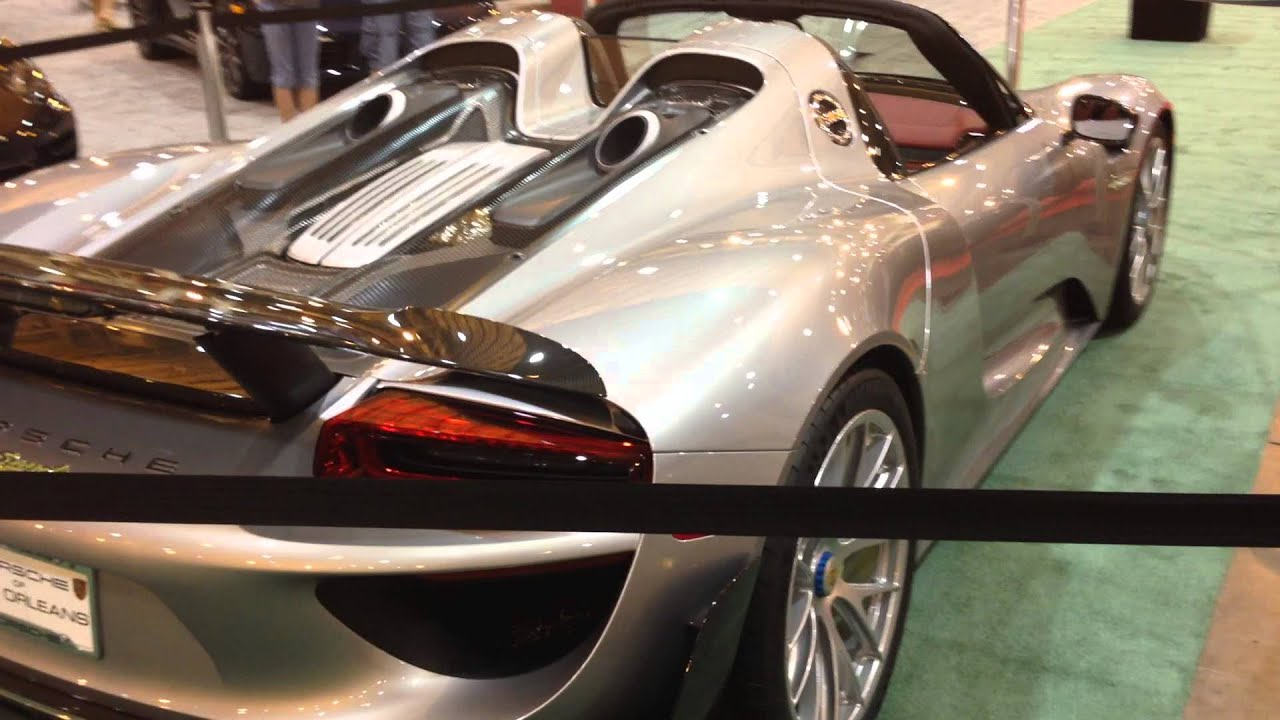 Porsche Spyder Walkaround At The New Orleans Auto Show March - New orleans car show
