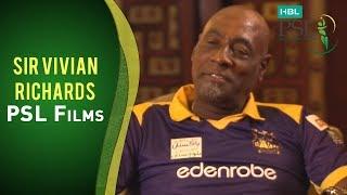 PSL Films: Wasim Akram in conversation with Sir Vivian Richards - Part One