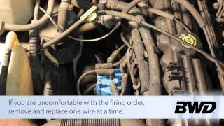 Jeep Cherokee Spark Plug Wire Replacement