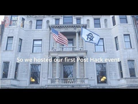 MIT Hacking Medcine's 2018 Post-Hack Event