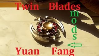 Twin Blades Quad Dual Yuan Fang Fidget Spinner Mods Chat Amazon China