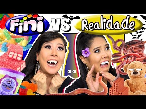 FINI vs REALIDADE (com minhocas) | Blog das irmãs