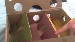 Кіт приголомшливий огляд іграшки продукт, Відео 1