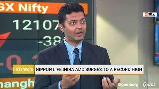 Nippon Life India AMC Surges To Record High