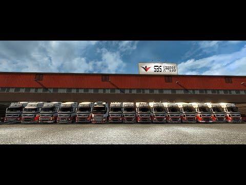 Tri-Trem no American Truck - é o que liga!  SBS XPRESS
