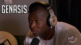 "Busta Rhymes new artist ""Genasis"" talks to Hot97 AM Show"