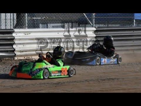 Kart Racing at Limerock Speedway! 6-27-19