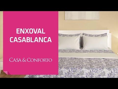 Enxoval Casablanca Casa & Conforto | Shoptime