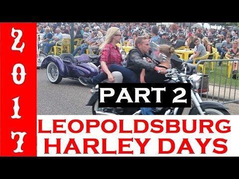 HARLEY DAYS LEOPOLDSBURG 2017 @ EVENING PART 2 IN BELGIUM Harley Treffen