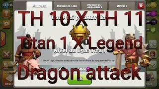 Clash of Clans| TH 10 X TH 11| •4700• #3