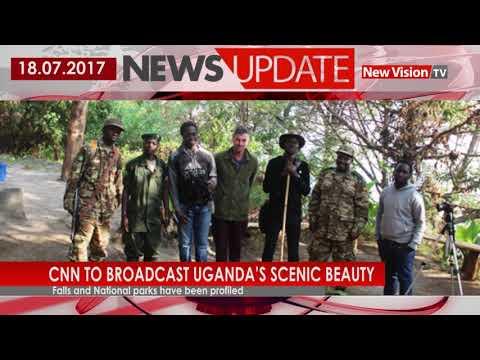 CNN to broadcast Uganda's scenic beauty