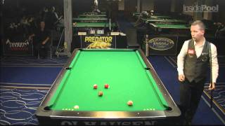 John Schmidt vs Mika Immonen at the World 14.1 Tournament
