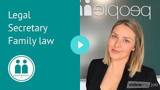 Legal Secretary Family law