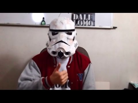 Stormtrooper Helmet Part 4 - Paint & Finishing // How to