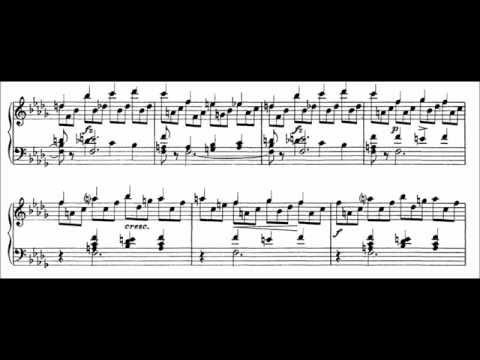 Franz Liszt - Etude S. 136 No. 12 (audio + sheet music)