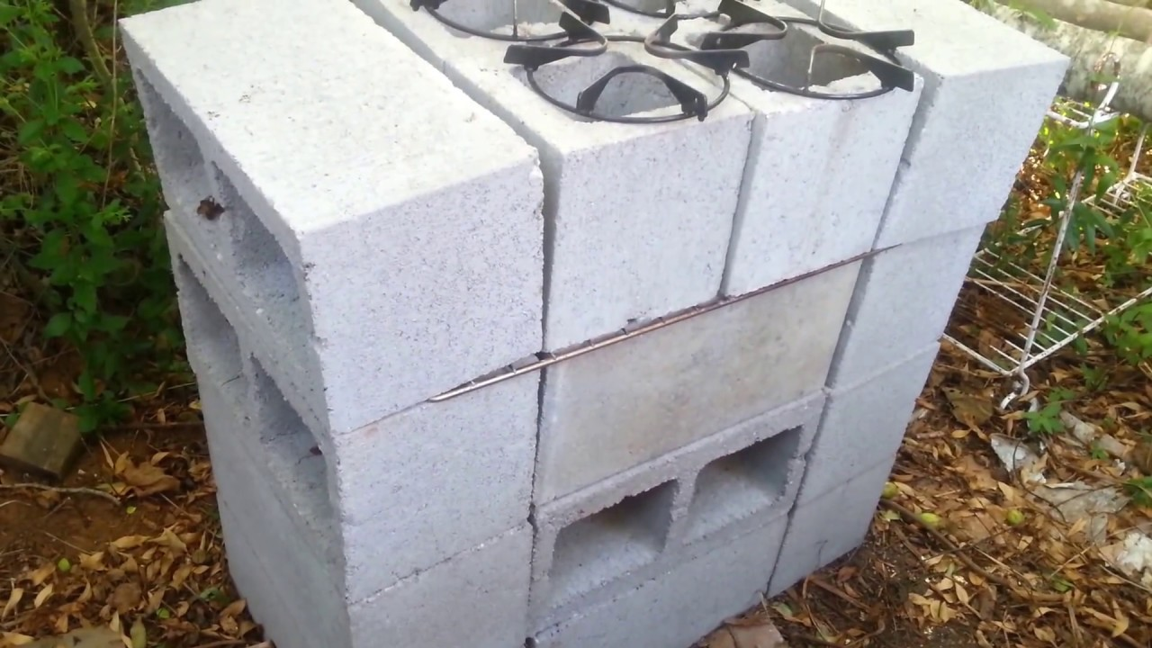 How i built my rocket stove grill oven all in one doovi for Brick jet stove
