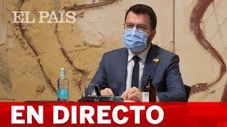 DIRECTO #CATALUÑA | ARAGONÈS ofrece declaraciones tras la DETENCIÓN de PUIGDEMONT