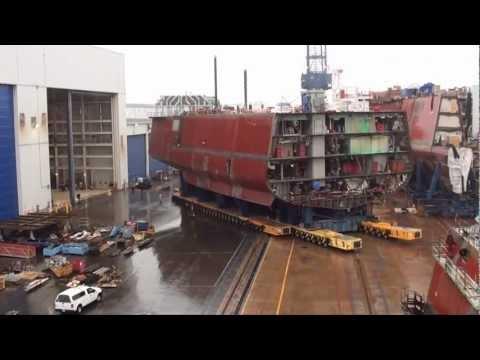 USS Zumwalt, March 2012