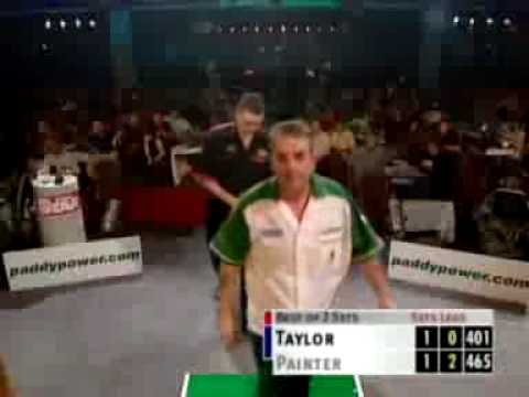 Kevin Painter beats Phil Taylor Grand Prix 2001