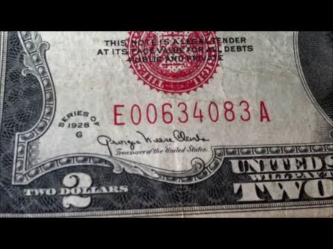 ULTIMATE $2 bill FOUND in stack of money!