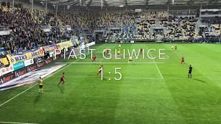 ARKA GDYNIA- Piast Gliwice /4K/ BRAMKI I BLAMAŻ