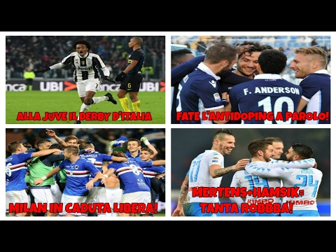 "JUVE ""AL CUADRADO"". NAPOLI PAZZESCO!! MILAN: CHE SUCCEDE?  (BAR SPORT: 23)"