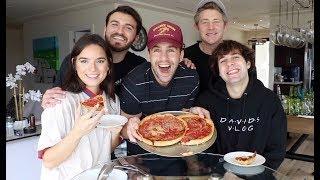 Download DEEP DISH PIZZA MUKBANG WITH DAVID DOBRIK, NATALIE, ZANE AND JASON!! Mp3 and Videos