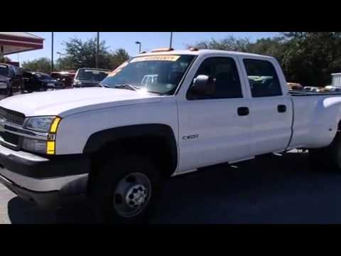 Dually Trucks For Sale >> 2003 Chevrolet 3500 Crew Cab Duramax Diesel Dually 4x4 For ...