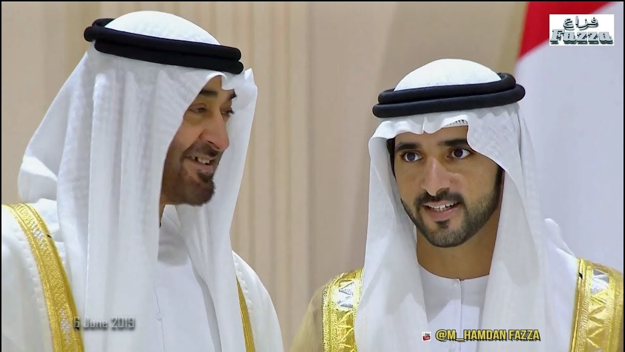 Dubai royal wedding: 𝙎𝙝𝙚𝙞𝙠𝙝 𝙃𝙖𝙢𝙙𝙖𝙣 (فزاع 𝔽𝕒𝕫𝕫𝕒) & brothers  celebrate with UAE Rulers (6 06 2019)
