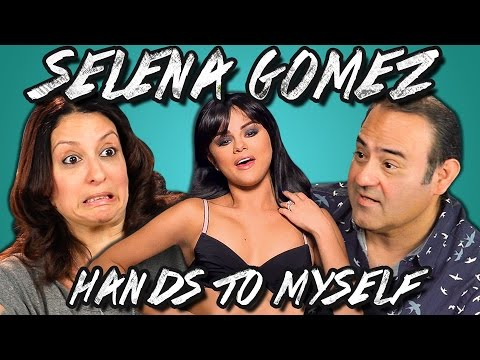 Adults React to Selena Gomez - Hands to Myself