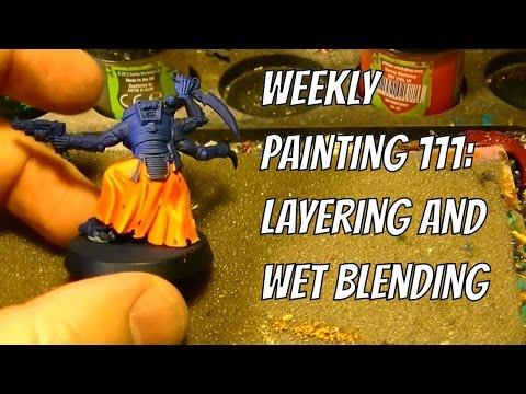 Weekly Painting 111: Layering and Blending