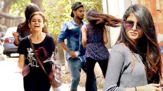 Black Magic on Cute Girls | Scare Prank in India | Street Swaggers