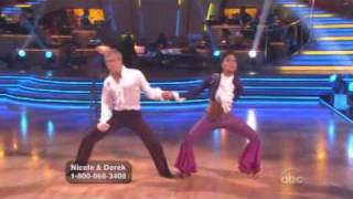 Nicole Scherzinger & Derek Hough - Dancing With The Stars -  Cha Cha Cha Week 9