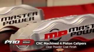 Master Power Brakes Pro Driver Big Brake Kit For 68-73 Mustang