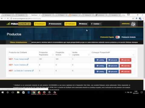 Sistema Puras Ganancias - Gana dinero Con Facebook sin inversion 2017