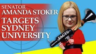 Senator Stoker targets Sydney Uni's handling of the demo against Bettina Arndt