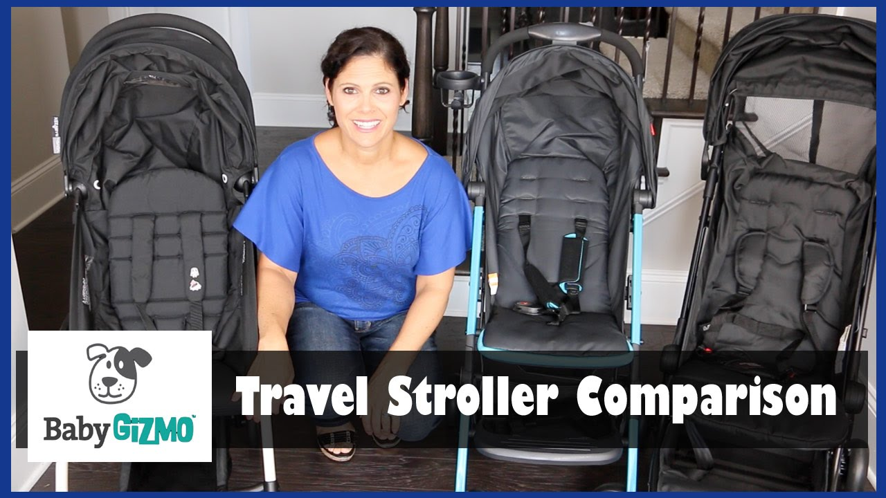 Travel Stroller Comparison Mountain Buggy Nano Vs Gb Qbit Vs