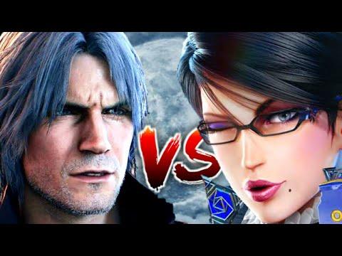 Dante VS Bayonetta | Who Is More Powerfull